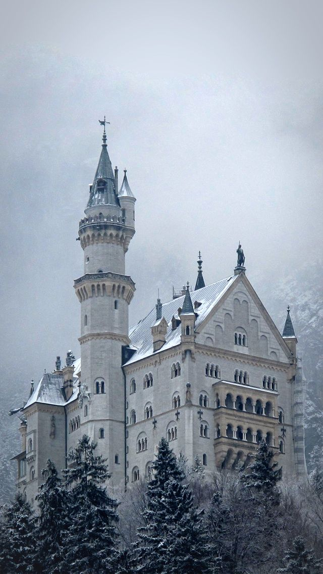 60 Most Downloaded Architecture Iphone Wallpapers Castle Pictures Neuschwanstein Castle Germany Castles