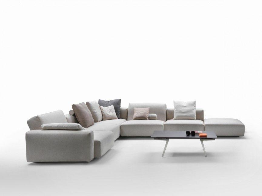 Flexform Lario 3 Corner Sectional Sofa 4 Seater Sofa Bed Modular Sofa