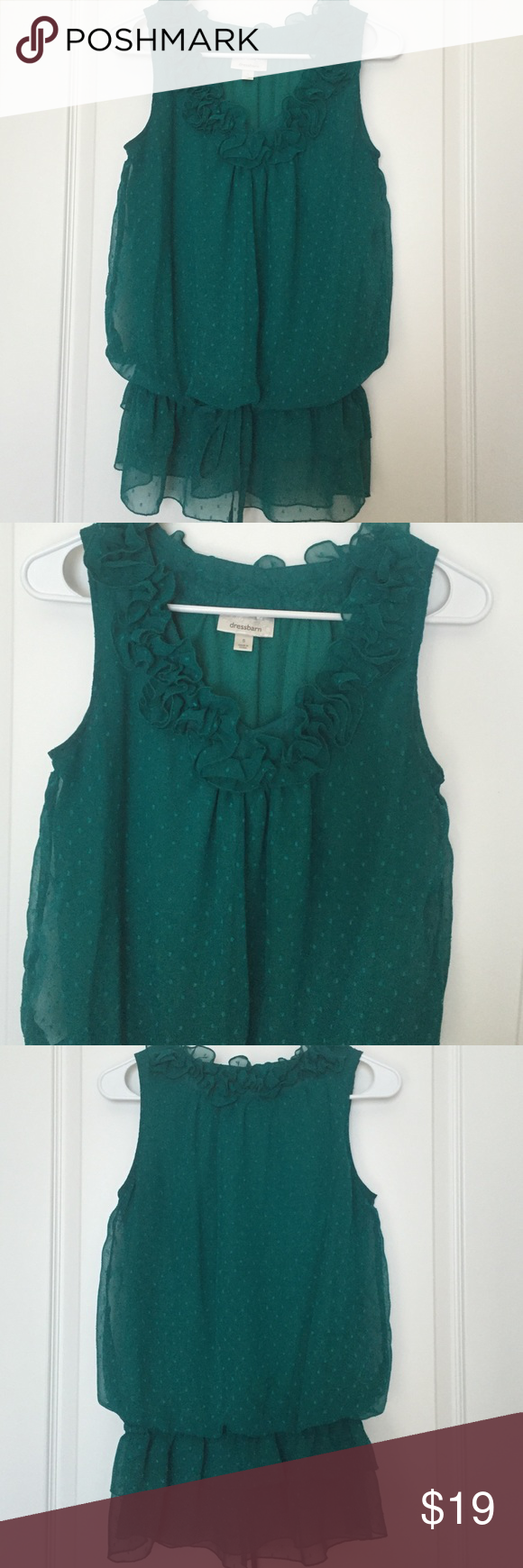 🌷DRESS BARN SLEEVELESS BLOUSE🌷SIZE S🌷LINED 🌷DRESS BARN SLEEVELESS BLOUSE🌷SIZE S🌷WITH ELASTIC AROUND THE WAIST AND DRAW STRING🌷BUNDLE 2 ITEMS FROM MY CLOSET AND SAVE 30%🌷 Dress Barn Tops Blouses