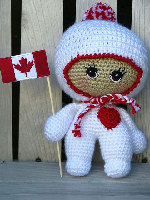 Ravelry: Project Gallery for Jojo the Big Headed Baby Doll pattern ...