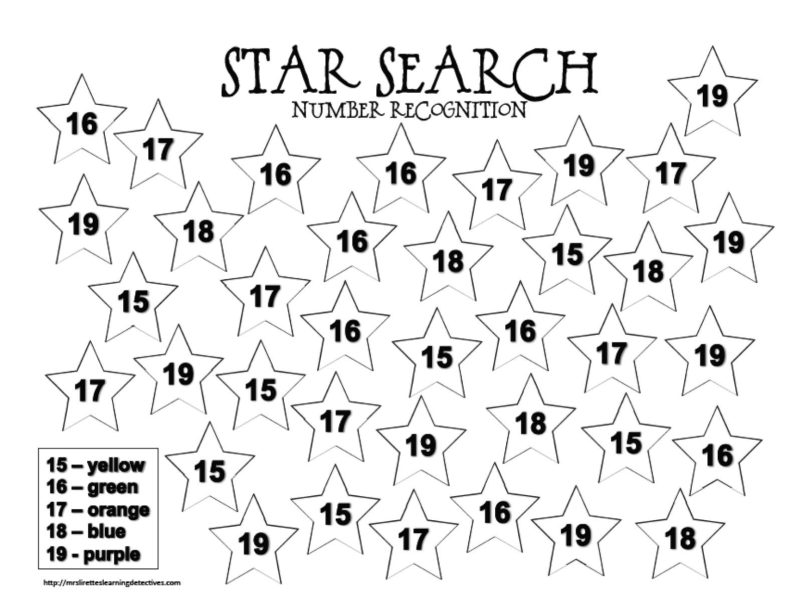 Uncategorized Star Math Worksheets mrs lirettes learning detectives space themed sensory and a freebie preschool worksheetskindergarten mathmath