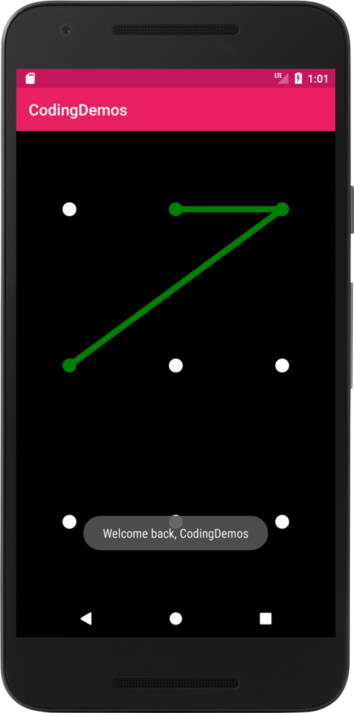 Pattern Lock Android Tutorial Android Tutorials Tutorial Android