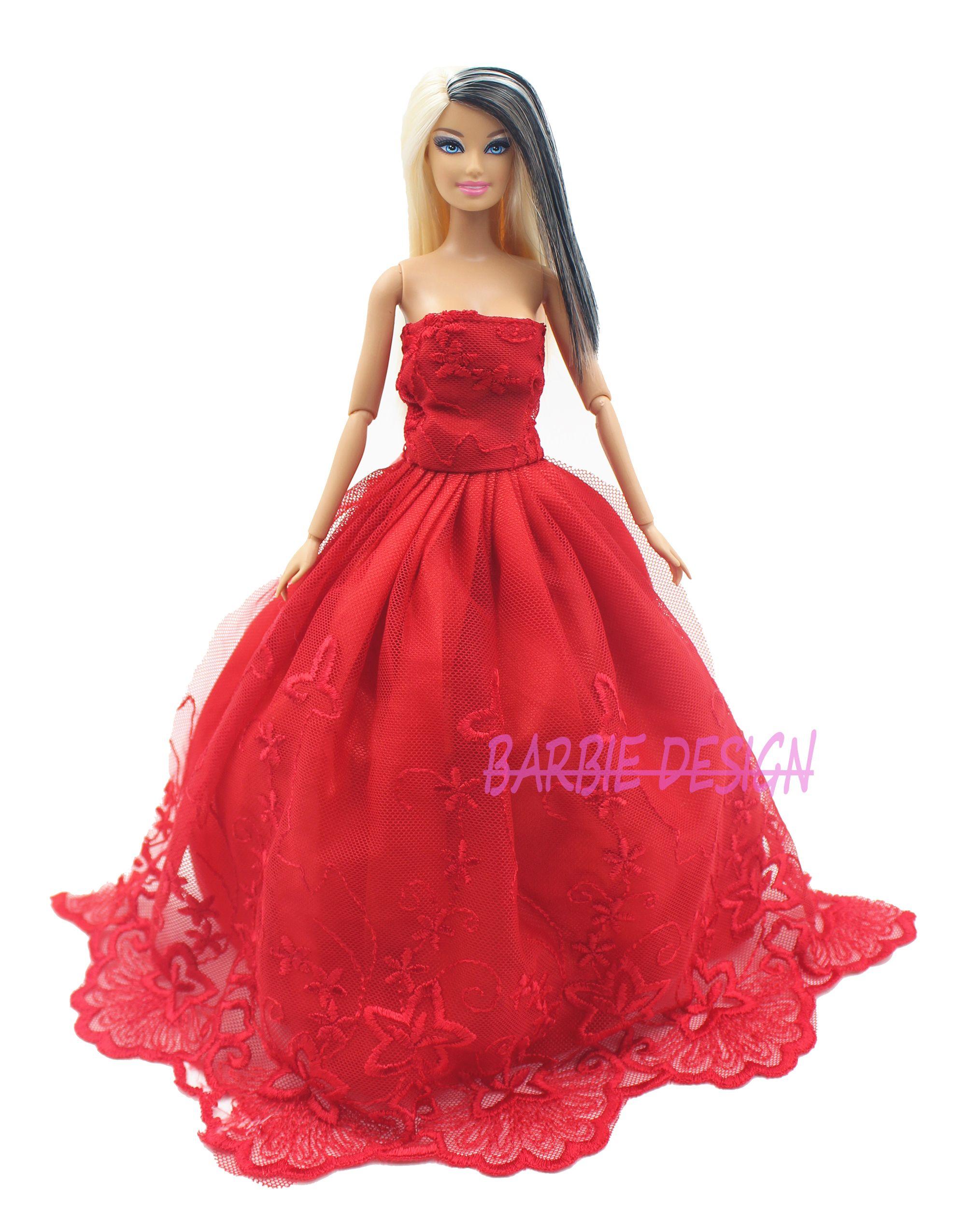 Handmade elegant princessdoll multideck dress bridal wedding