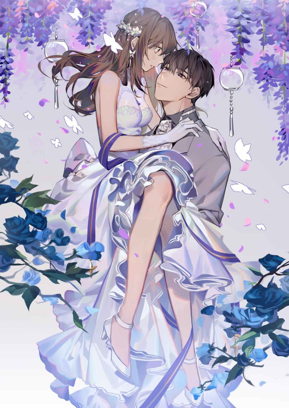 Tefco on Twitter in 2020 Anime wedding, Amazing art