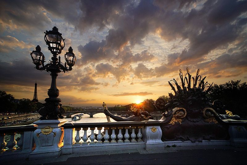 Sunset in Paris: a moment of magic | by marko.erman