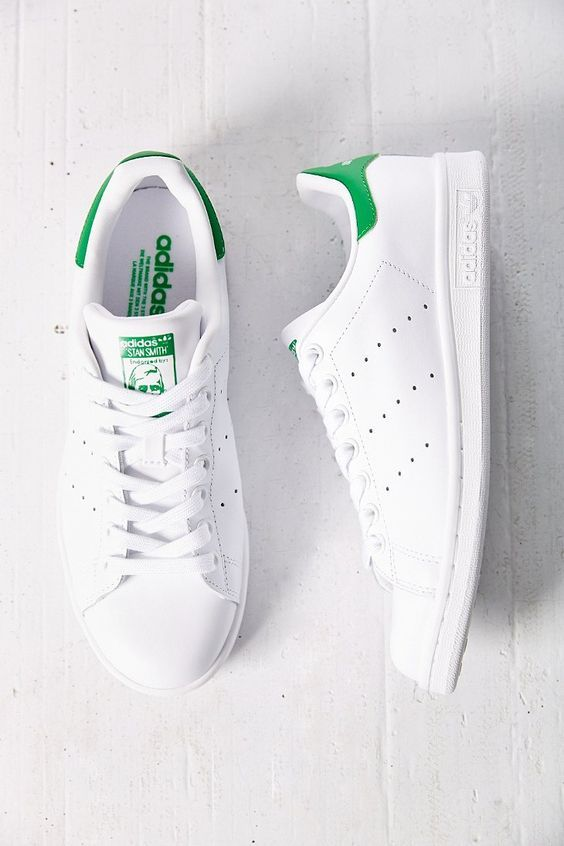 size 40 b9399 41377 Zapatillas Adidas Originals Stan Smith verde para chica. Adidas Stan Smith  green for women.