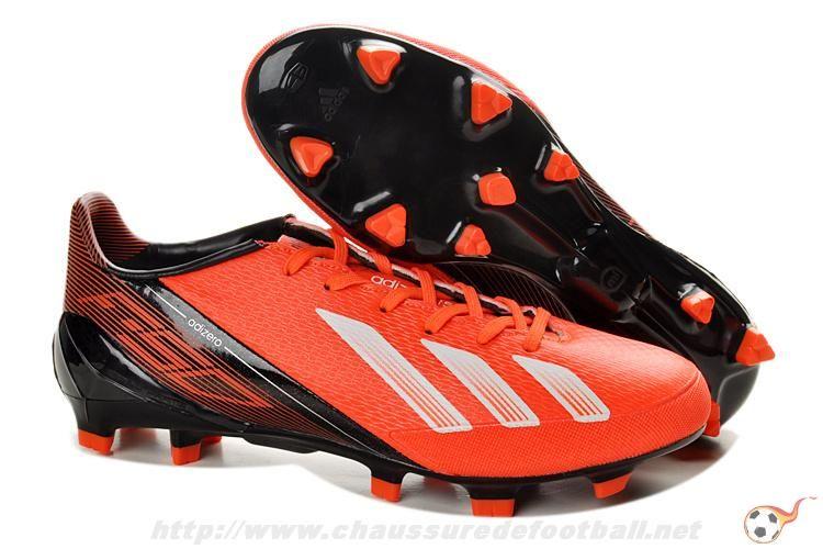 reputable site 01666 29d2e Chaussure de foot adidas F50 adizero TRX FG infrarougeWhtBlk FT5970