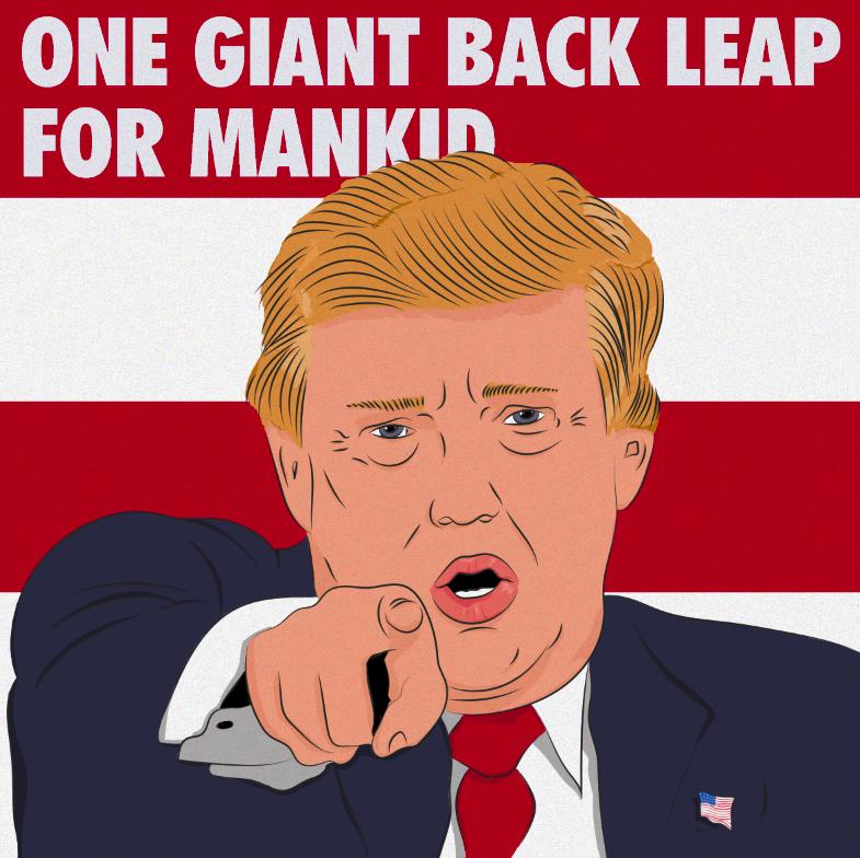 Ilustración elecciones EEUU #trumpportrait #character #portrait #donaldtrump