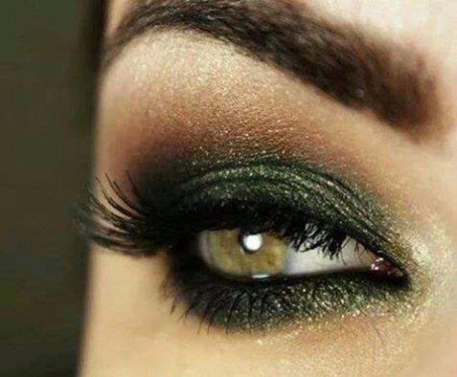Formal Ojos Green Eyes MakeupDramatic Eye MakeupHazel