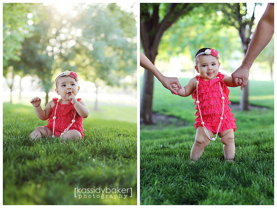 Baby girl photography 8 month old photography