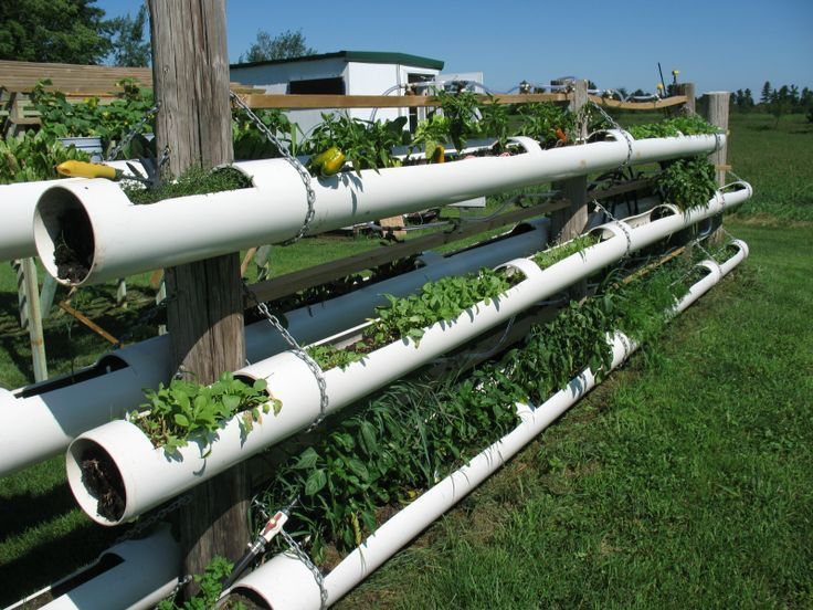 Good DIY Hydroponic Garden Tower Using PVC Pipes. #DIY #gardening #wonderfuldiy