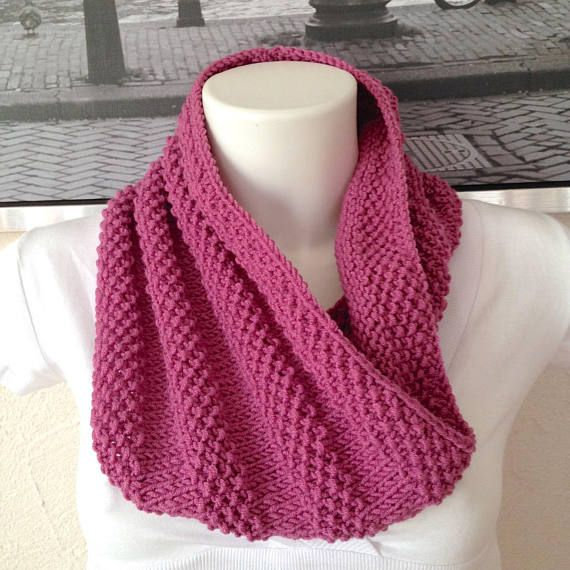 CLEARANCE - Large snood elegant knit mesh woman or teen points ... 7f47de50794