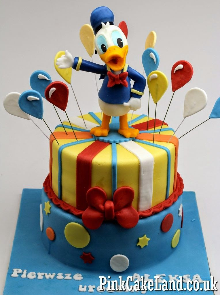 Phenomenal Novelty Cakes In London Duck Cake Donald Duck Cake Themed Cakes Funny Birthday Cards Online Elaedamsfinfo