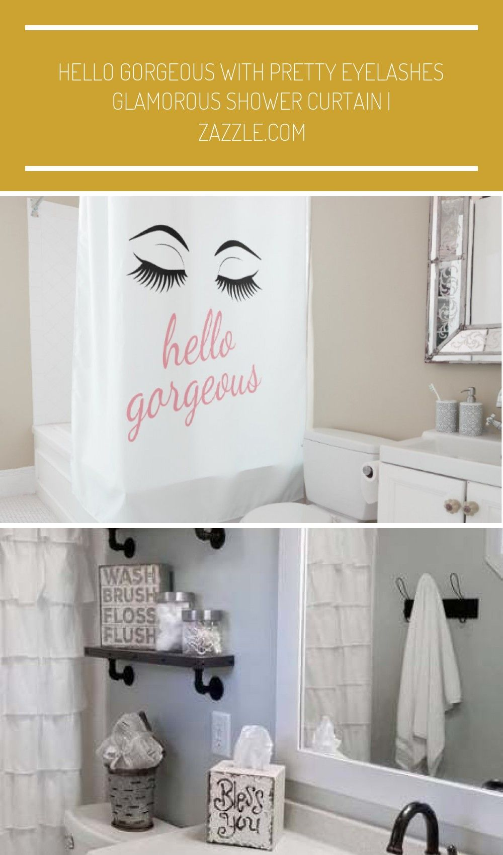 Hello Gorgeous With Pretty Eyelashes A Cute And Glamorous Shower
