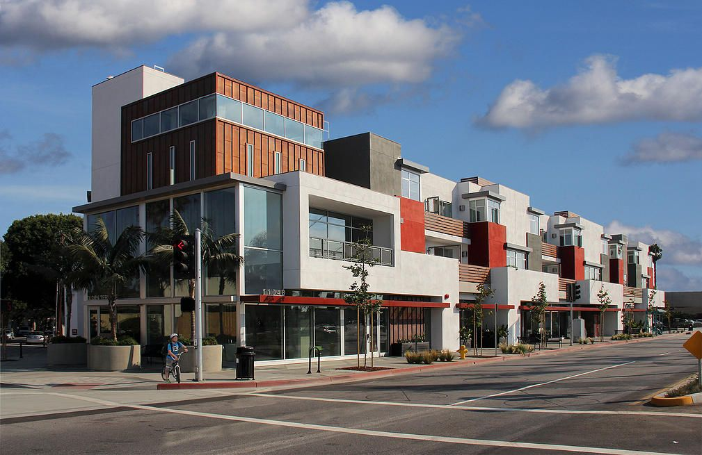 Los Angeles Architects: The Albert Group, mix-use and commercial projects