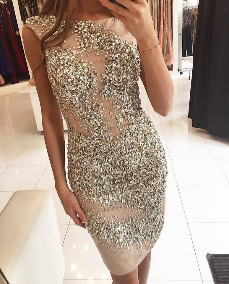 Charming Prom Dress,Sexy Prom Dress,Gergeous Crystal Beading Prom