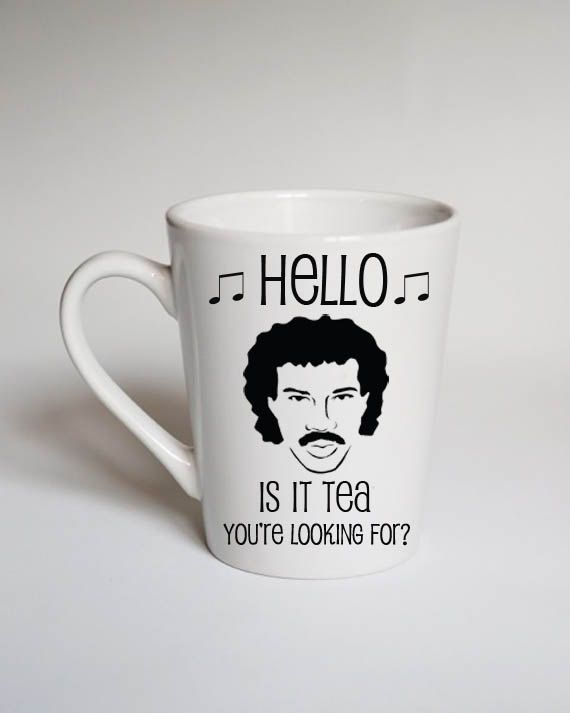 Hello Is It Tea You Re Looking For Mug Lionel By Citycraftdesigns