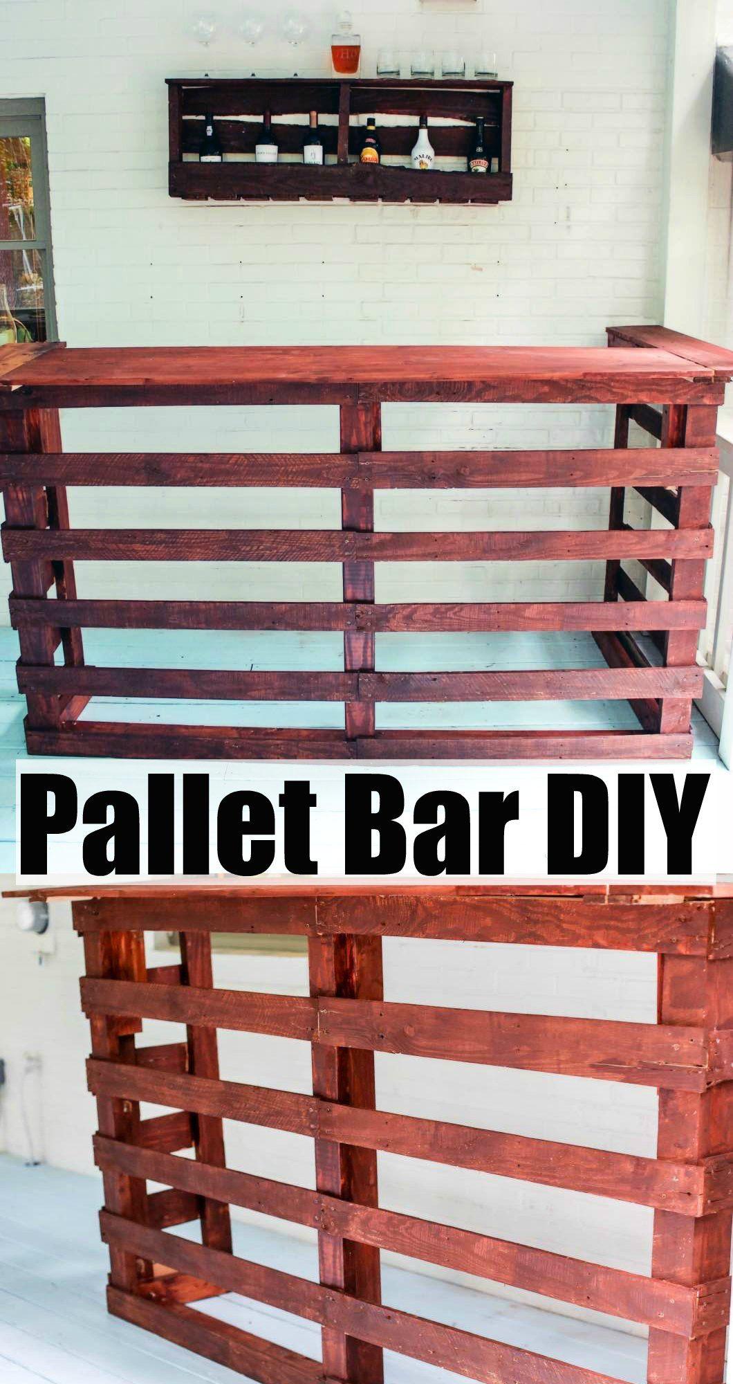 Elegant Diy Pallet Bar Stool
