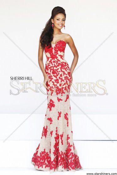 Rochie Sherri Hill 11120 Red