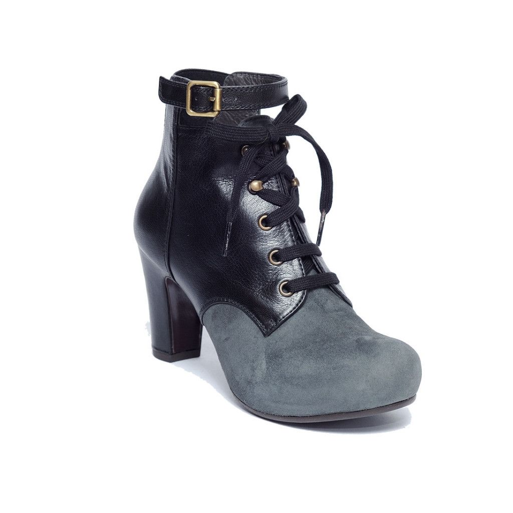 4db7158a755bb Chie Mihara Black Leather Boot from ELLA Shoes Vancouver