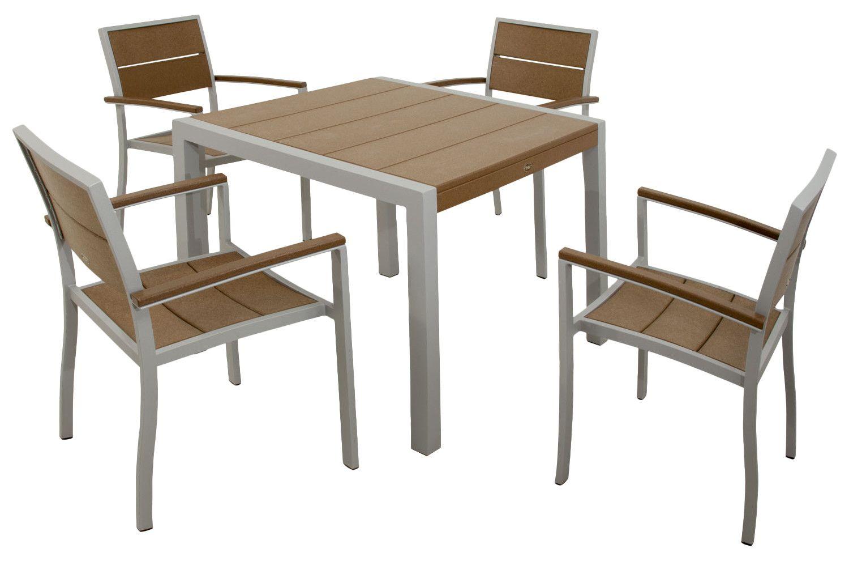 Mazur Outdoor 5 Piece Dining Set Banklar