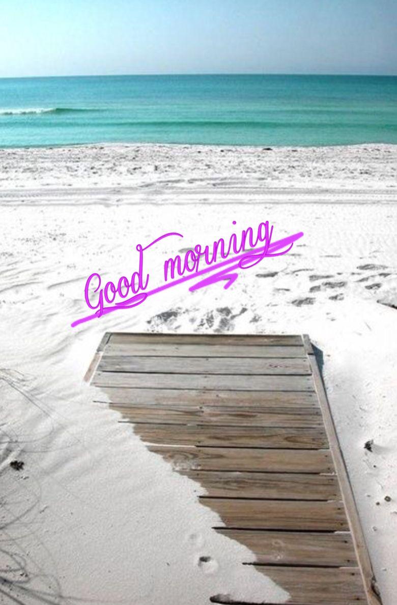 Good Morning Beach : morning, beach, Morning, Ideas, Morning,, Quotes,, Quotes