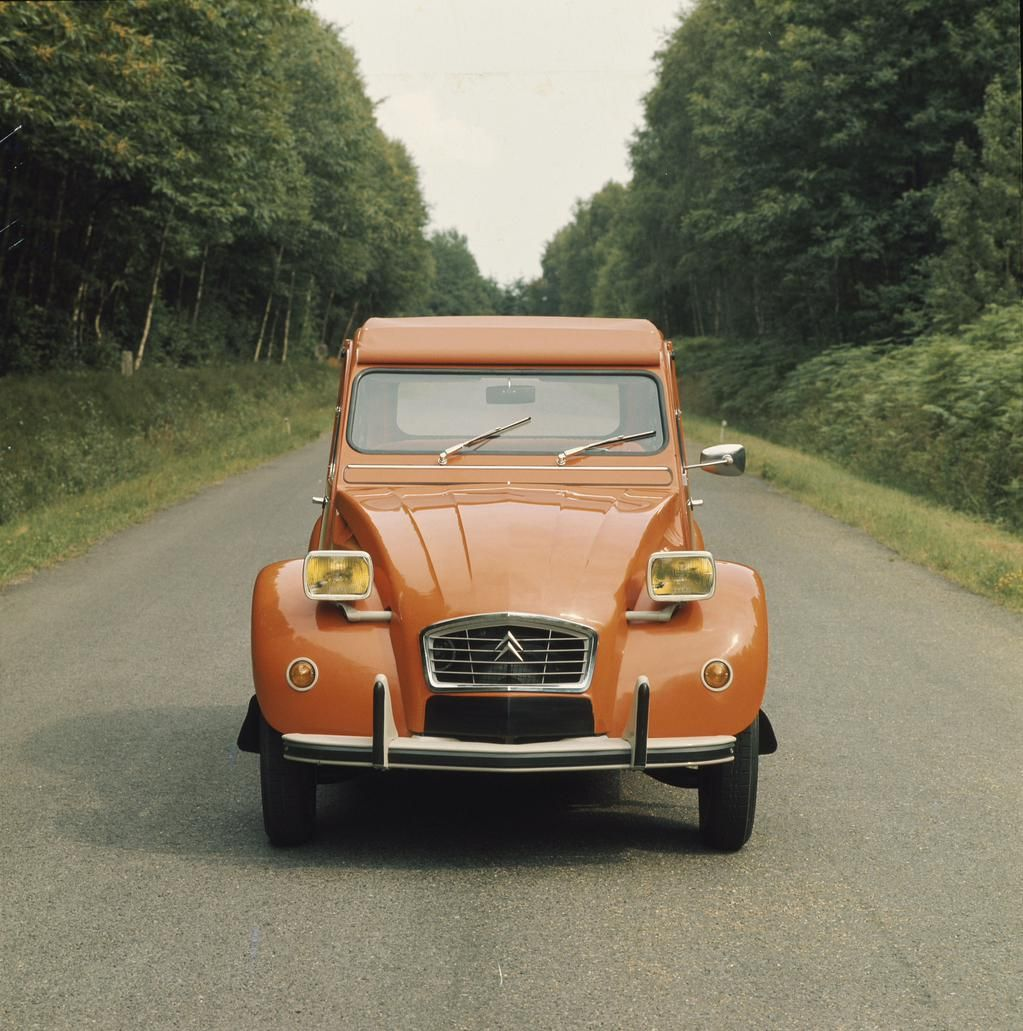 Inside Lane On Twitter Citroën 2cv Citroen Orange Car