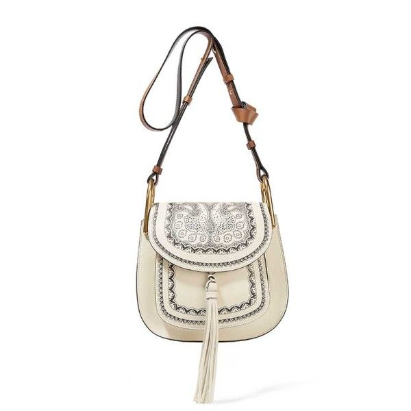 This Chloe x Net-A-Porter Embroidered Hudson Bag will upgrade any outfit this season.