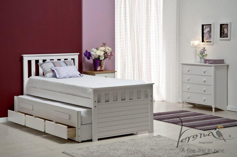 Trundle Bed Drawers Desk Childrens Bedroom Furniture Blue White Grey Sisustus Pinterest Childrens Bedroom Furniture Bed Drawers And Boy Beds