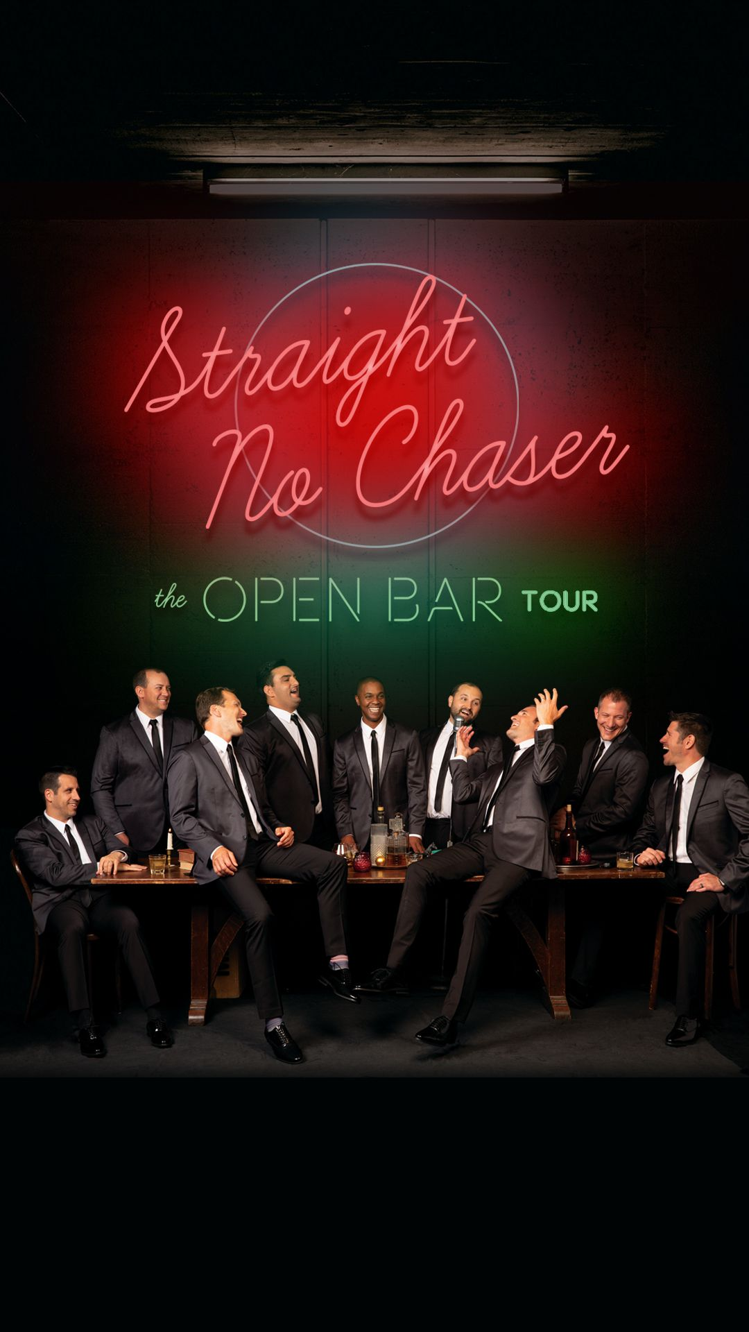 What Is Like To Be Part Of Straight No Chaser What Is Like Event Center Bar Tour
