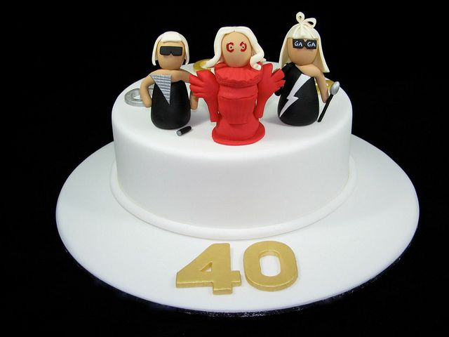 Lady-gaga-cake (With Images)
