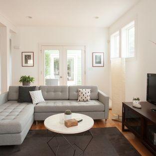 New Modern Minimalist Living Room Design