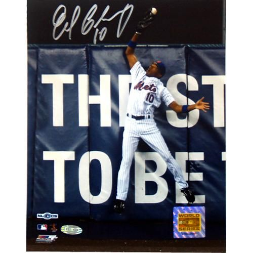 Steiner New York Mets Endy Chavez Game 7 Robbing Home Run 8x10 Photo