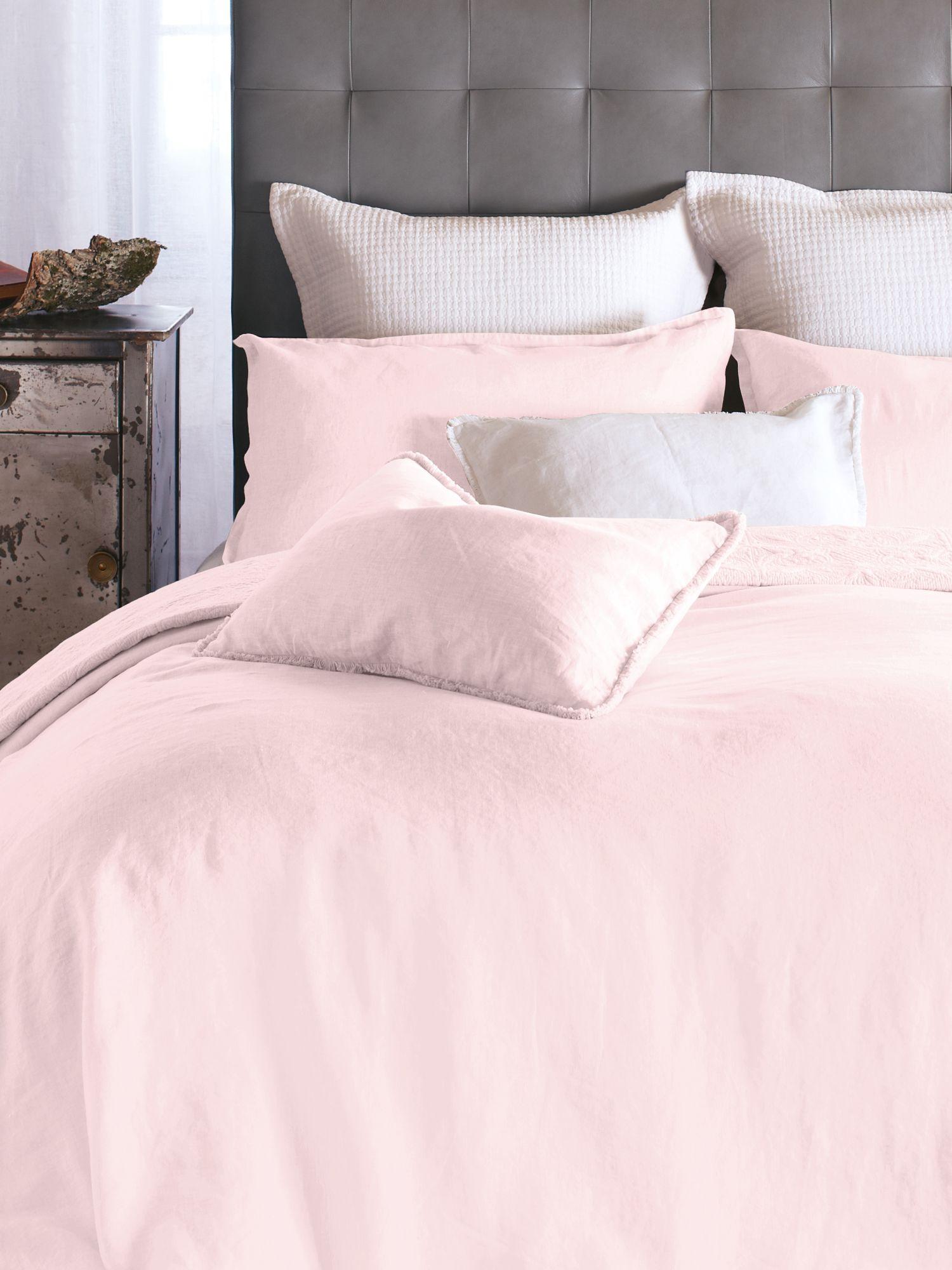 Collection Linen rose pink Housse de couette