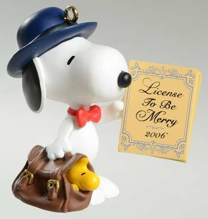 Ornament Review Legal Beagle Spotlight On Snoopy 9 2006