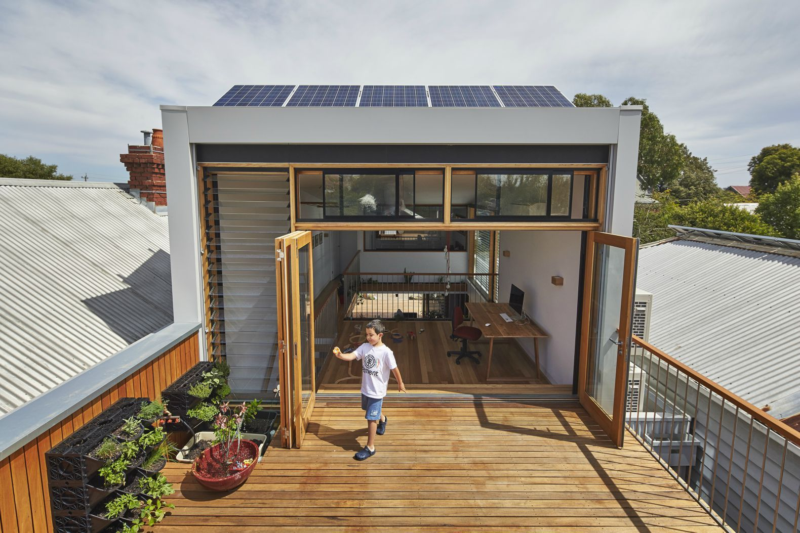 Melbourne Architects Turn An Old Terrace House Into A Gorgeous