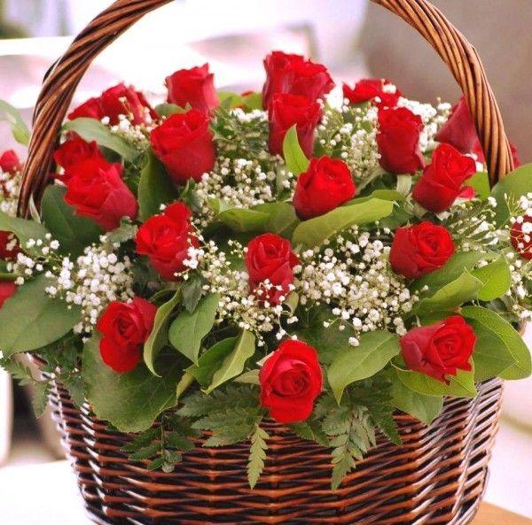 Pin By محمد حسين الدخاني On Beautiful Flowers Valentine Flower Arrangements Floral Baskets Flower Decorations