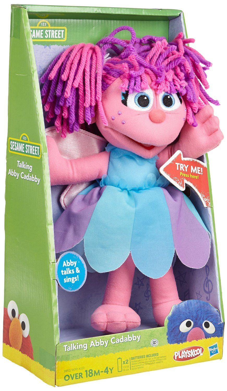 Sesame Street Talking Abby Cadabby In 2019 Abby Cadabby
