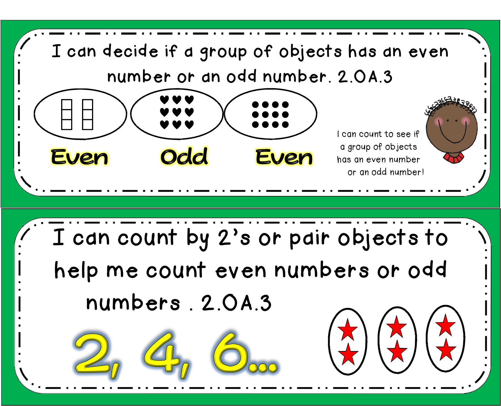 Even And Odd Numbers Math Tasks And Exit Tickets