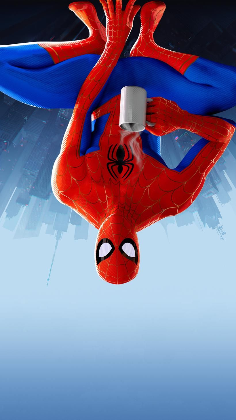 Into The Spider Verse Iphone Wallpaper Spiderman Art Spider Verse Iphone Wallpaper