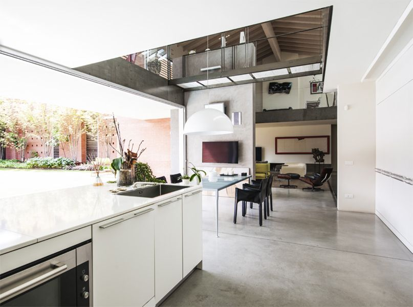 Sandro Scaramuzza Architetto Lab1 Wohnen Wohnbereich
