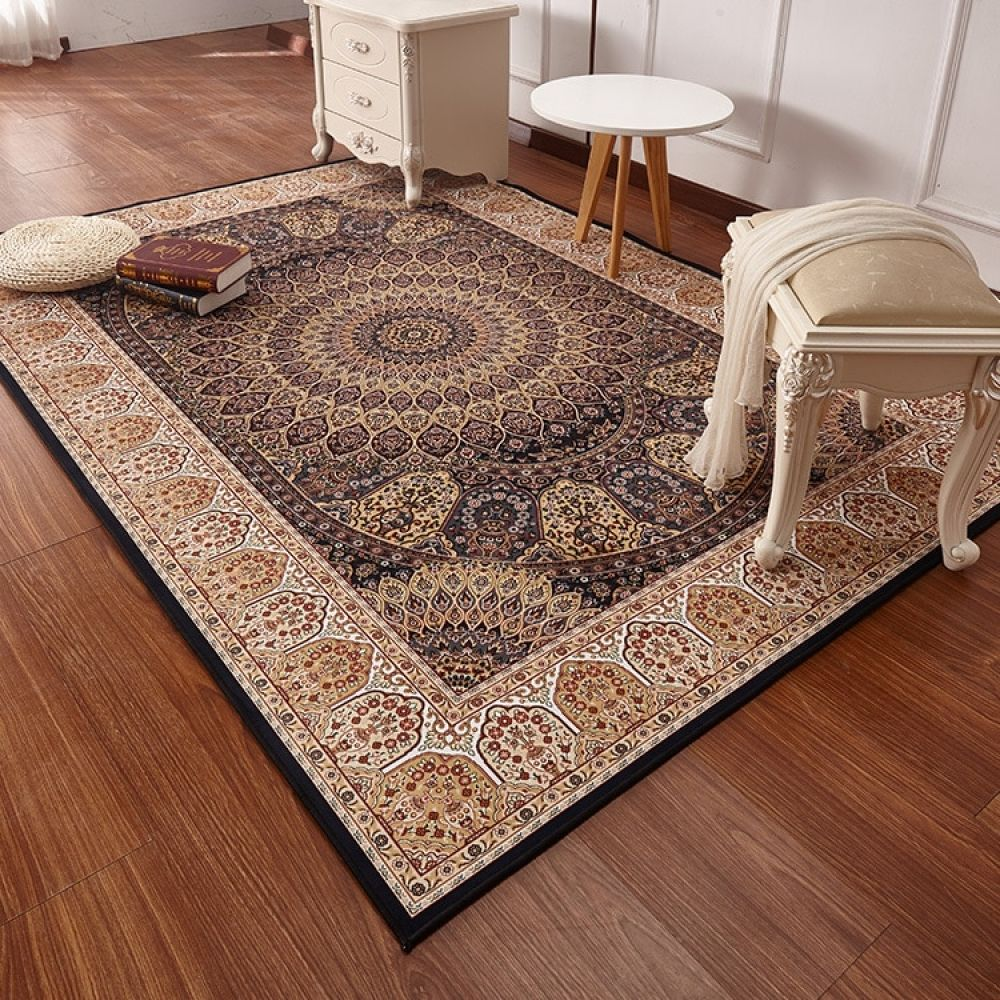 Persian Style Carpets For Living Room Luxurious Bedroom Rugs And