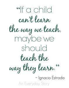 Teach the Way They Learn Changing our Teaching Style