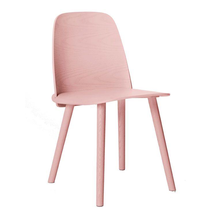 Nerd Tuoli, vaaleanpunainen ryhmässä Huonekalut / Tuolit / Tuolit @ ROOM21.fi (123314)