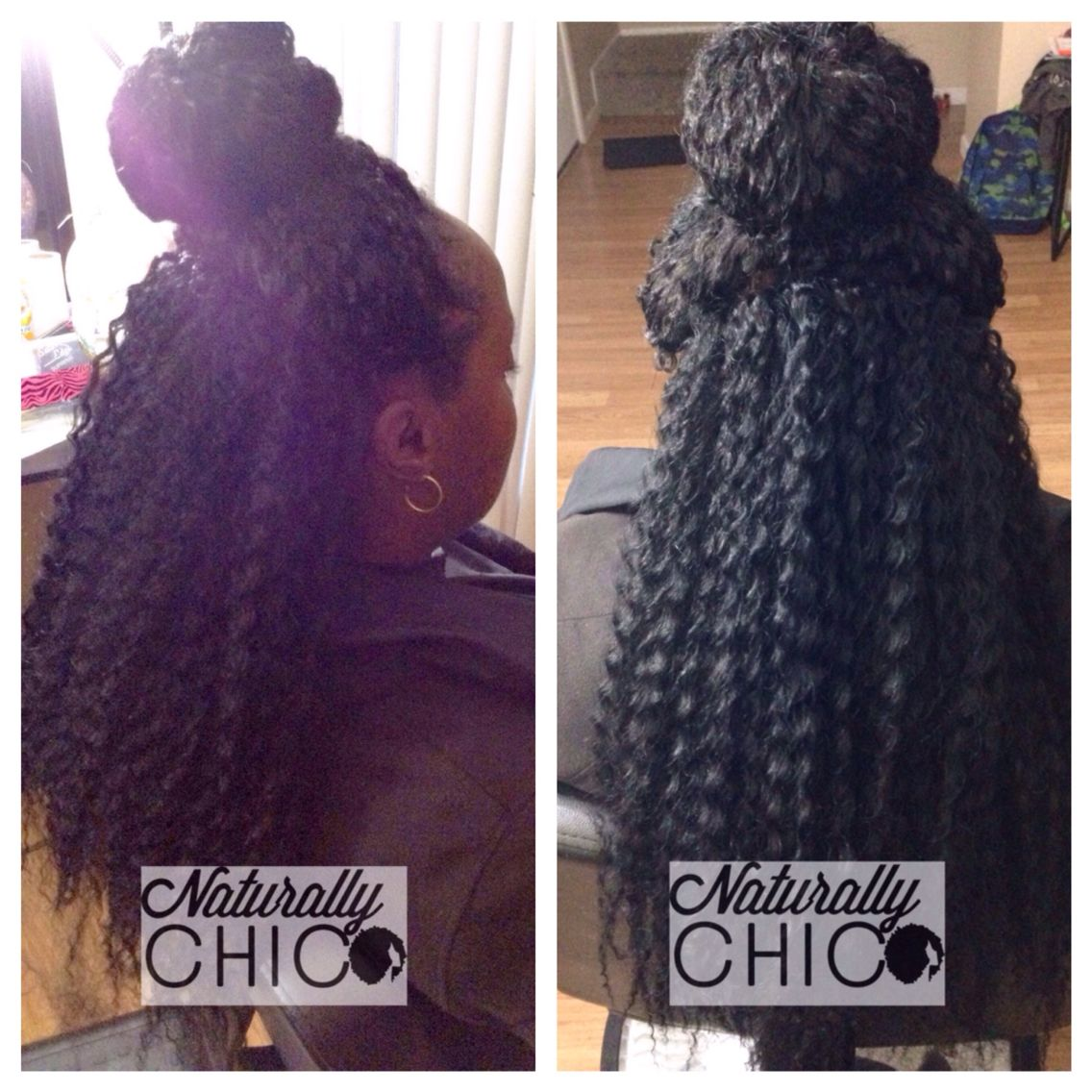 Crochet Braids Half Up Half Down Protective Styles For Natural