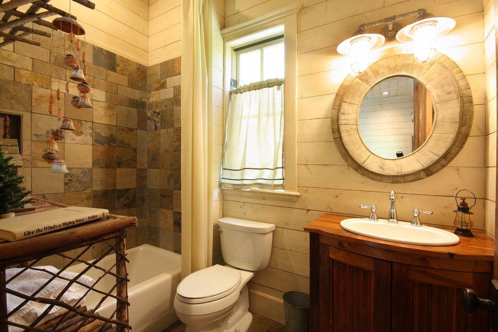 Decorative-Bathroom-Rustic-design-ideas-for-Knotty-Pine-Bathroom ...