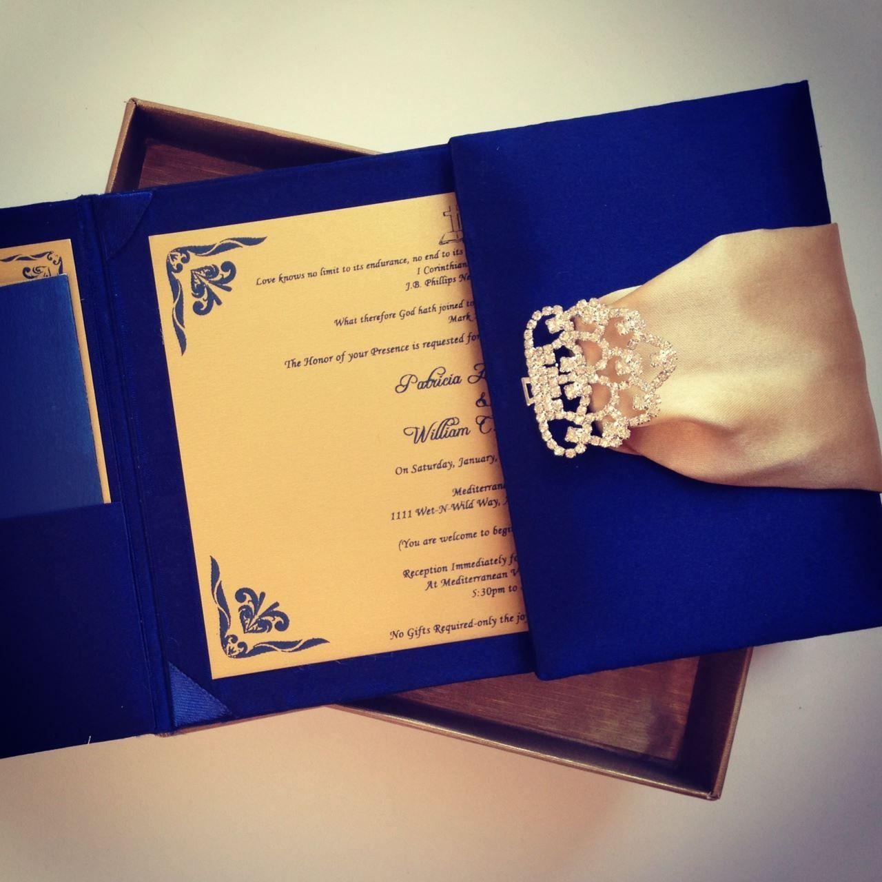 Boxed Wedding Invitations Bespoke Wedding Invitations Pinterest