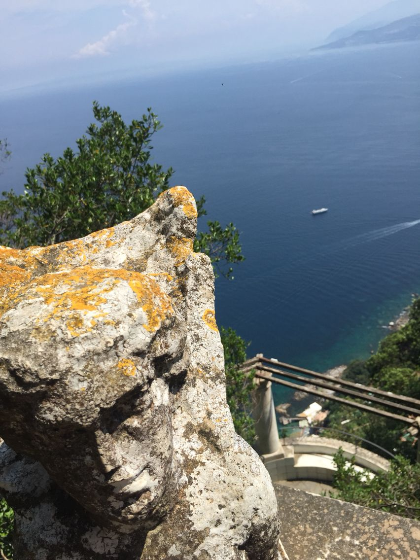 Villa San Michele, Anacapri. Special points of view, in the deep blue sea of Capri!