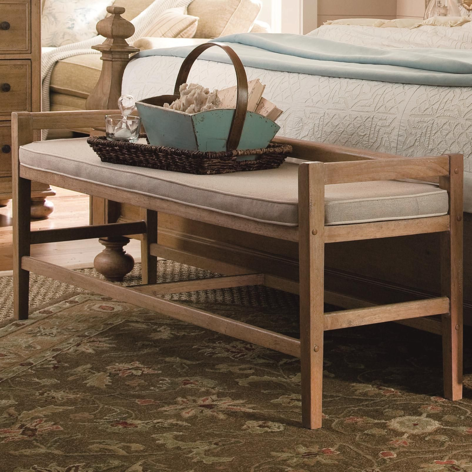 Down Home Bed Bench By Paula Deen By Universal Furniture Home