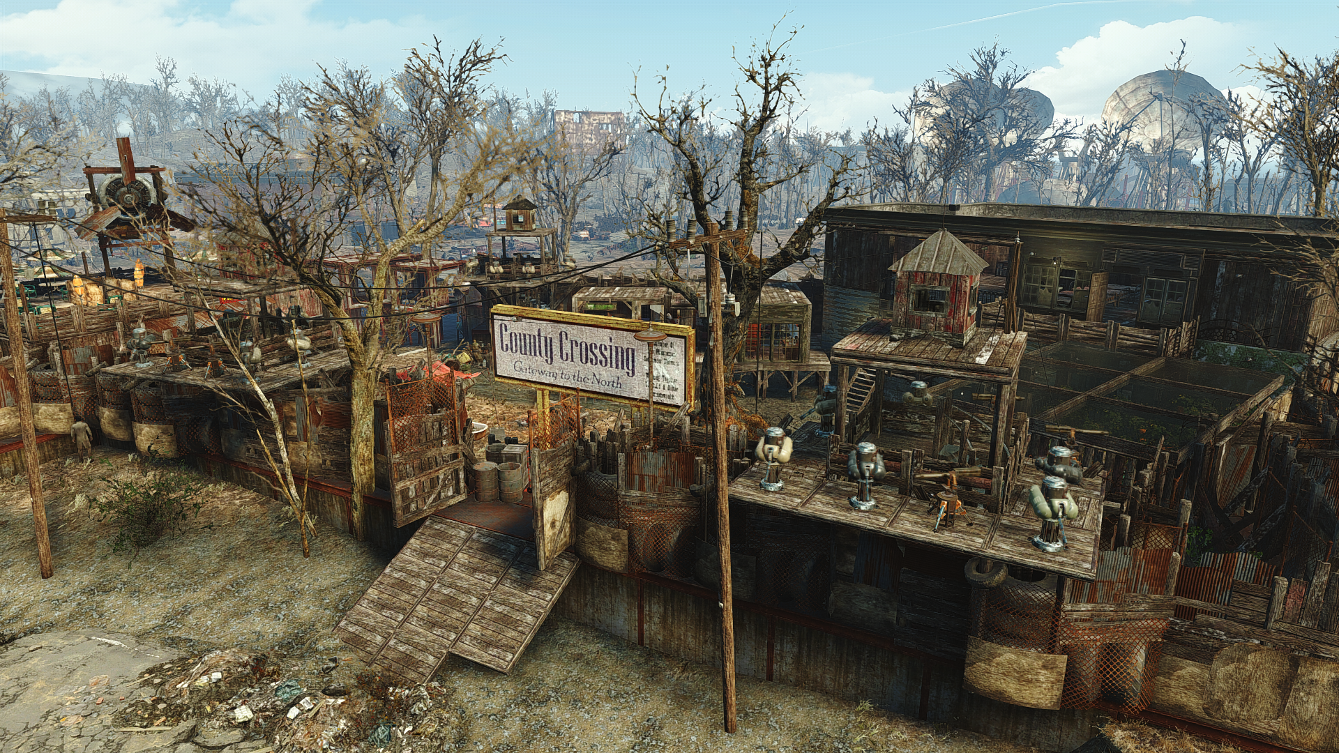 Fallout 4 Country Crossing Settlement Gaming Fallout Fallout